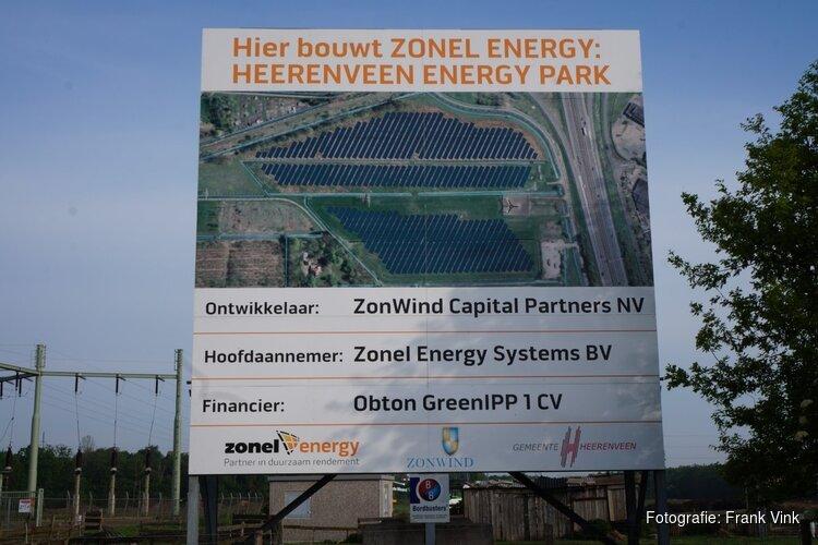 Bouw van zonnepark aan de Omweg begonnen