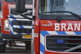 Kliko's in brand bij bedrijf in Gorredijk