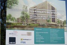 Bouw van appartementen Heerenhage Heerenveen in volle gang