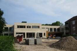 Nieuwbouw zorgcentrum Marijke Hiem Heerenveen in beeld