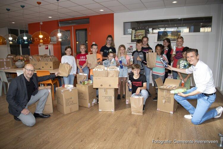 Basisschoolleerlingen verrast met cadeau