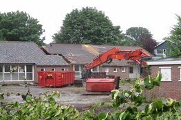 Verbouwing voormalig schoolgebouw Helomalaan Heerenveen begonnen