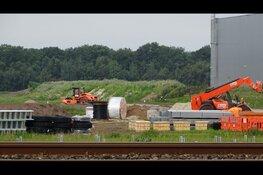 Bouw en aanlegwerkzaamheden zonnepark Heerenveen Zuid in volle gang bezig
