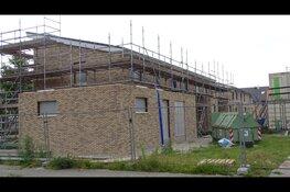 Bouw van nieuwe woningen Gooilandlaan Heerenveen vordert