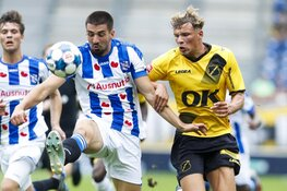 NAC in slotfase langs Heerenveen in oefenduel