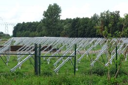 Bouw zonnepark Omweg Heerenveen Energy park vordert