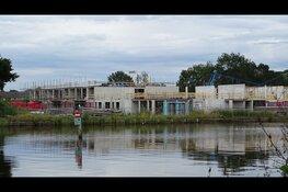 Bouw zorg appartementen Heerenhage in Heerenveen in beeld