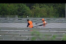 Plaatsing van zonnepanelen Heerenveen Energypark volop bezig