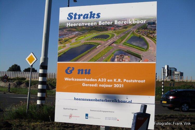 Werkzaamheden Heerenveen beter bereikbaar volop bezig