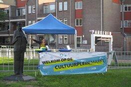 Opbouw Cultuurmarkt Geert Wilgenplein