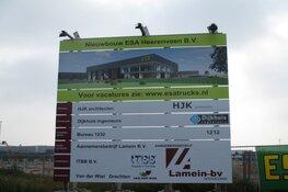 Nieuwbouw ESA Trucks aan de Uranus in Heerenveen volop bezig!