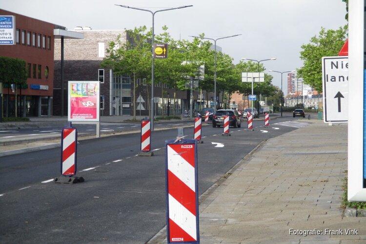 Weekendafsluitingen K R Poststraat vanwege werkzaamheden kruispunten