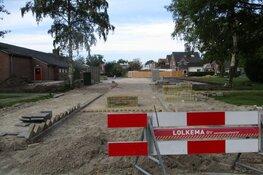 Aanleg parkeerterrein Helomalaan Heerenveen vordert