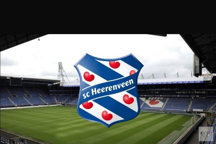 SC Heerenveen moeizaam langs negental van VVV