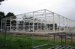 Nieuwbouw van turnhal in Heerenveen krijgt meer vorm!
