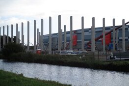 Uitbreiding van het distributie centrum van de Lidl in Heerenveen vordert!