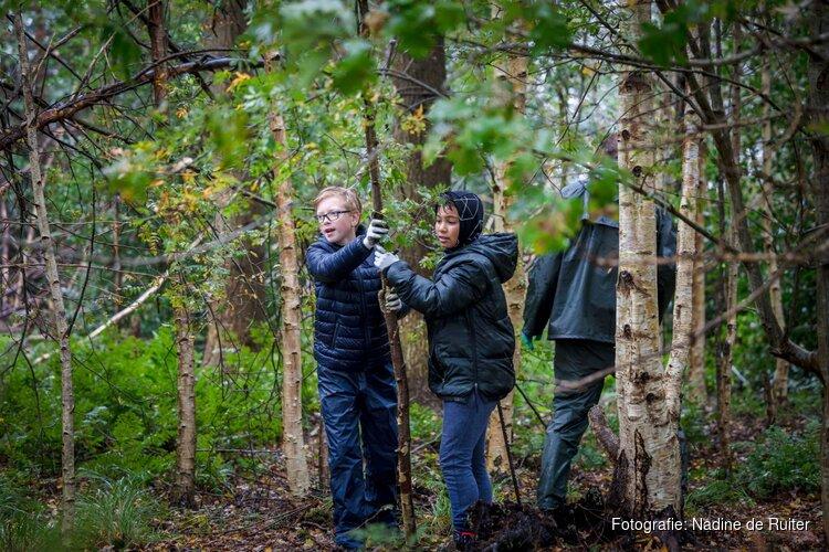 Ruim 350 leerlingen aan het werk in natuurgebieden en agrarisch landschap