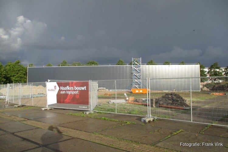 Bouw nieuwe turnhal Sportstad Heerenveen vordert gestaag