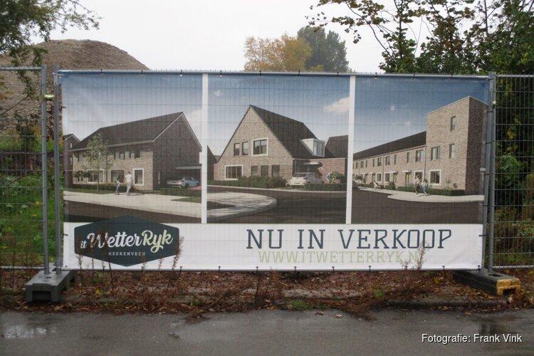 """Grond bouwrijp maken voor het nieuwbouw project """"it Wetterryk"""" wonen in Heerenveen begonnen!"""