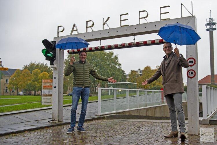 Tijdelijk gratis parkeren in parkeergarage Geerts Willigen