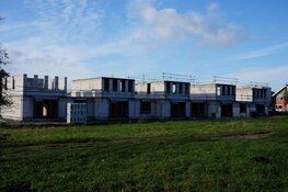 Bouw nieuwe woningen wijk Skoatterwald volop bezig!