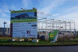 Nieuwbouw ESA trucks aan de Uranus in Heerenveen vordert!