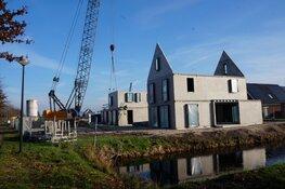 Bouw nieuwe woningen Stadhouderlaan en Oranje Nassaulaan volop bezig!