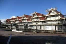 Bouw van nieuwe woningen aan de Stadhouderlaan vordert!