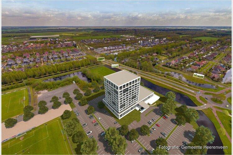 Presentatie schets voor Van der Valkhotel in Heerenveen