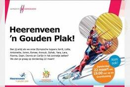 Heerenveen huldigt Olympiërs uit Heerenveen
