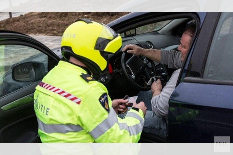 Vier aanhoudingen bij grootschalige verkeerscontrole in Noord-Nederland