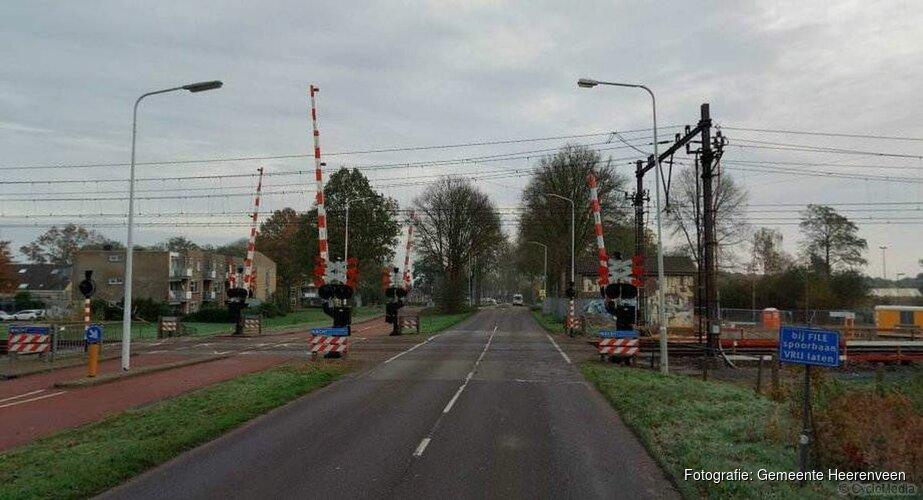 Afsluiting spoorovergang Rottumerweg