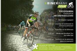 Kom naar de start van de BinckBank Tour