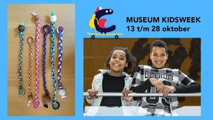 Museumkidsweek in de herfstvakantie bij Museum Heerenveen