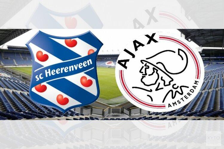 Ajax beleeft heerlijk avondje in Heerenveen