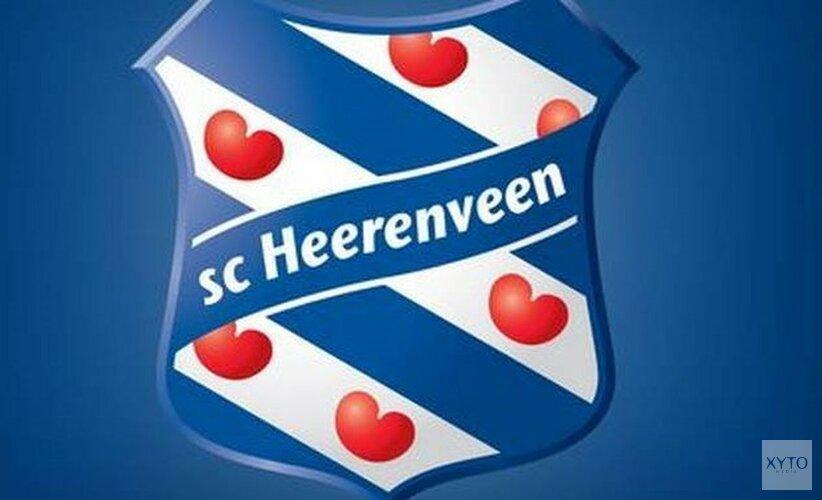 SC Heerenveen loopt rood aan in Breda