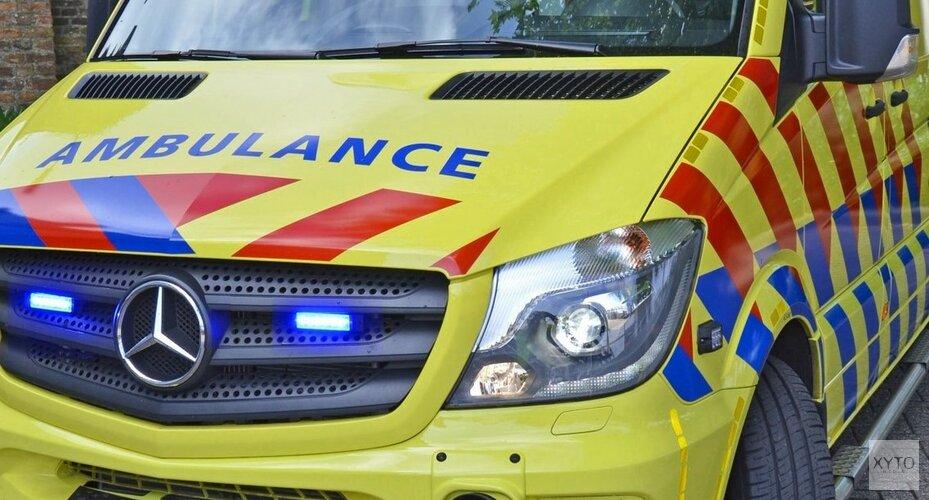 Ongeval Haskeruitgang, fietser gewond