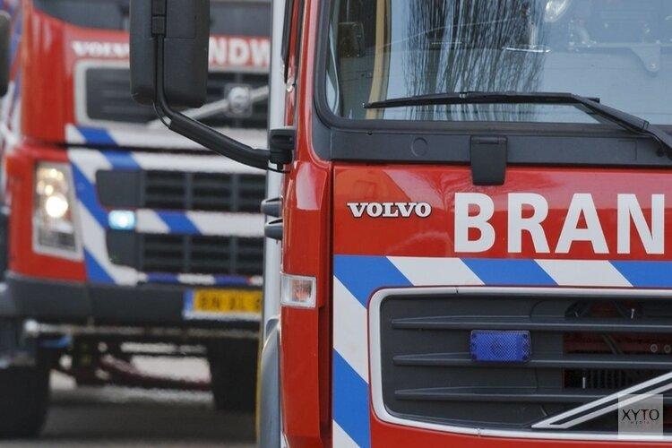Vrachtwagen brandt uit in Heerenveen-Zuid