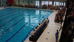 NK Senioren en Masters synchroonzwemmen druk bezocht