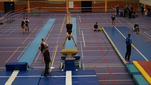 NK Micro Teamgym Sportstad Heerenveen druk bezocht