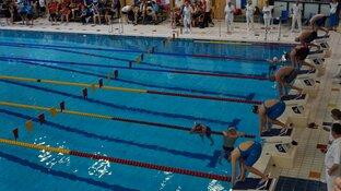Zuyderzee Masters Circuit zwemmen Sportstad Heerenveen druk bezocht