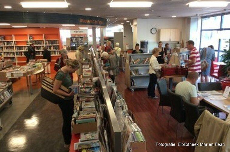Boekverkoop in Heerenveen