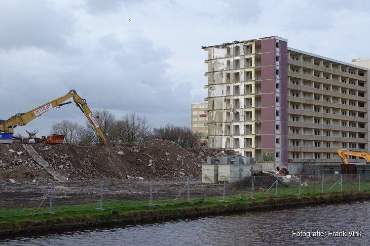 Sloop hogere gebouwen serviceflat Heerenhage Heerenveen vordert