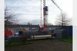 Bouw woningen wijk Heerenveen Midden vordert