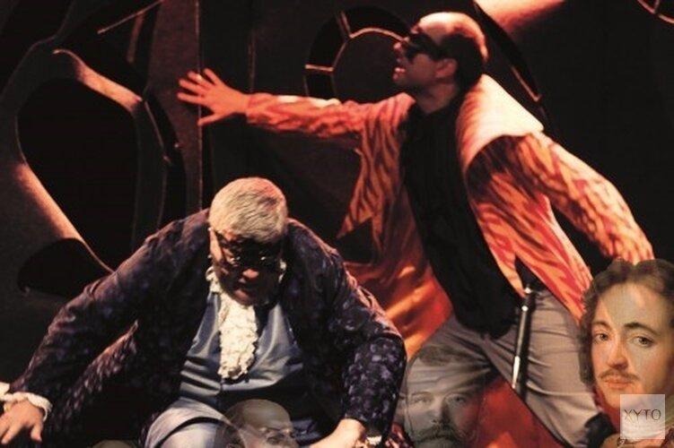 Muziektheatervoorstelling 'De ontmaskering van Peter de Grote' door BarokOpera Amsterdam