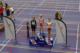 Veel deelnemers bij Indoor atletiek Sportstad Heerenveen