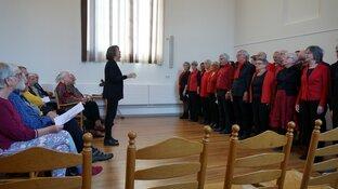 Koor concert de Reade Hoeke Heerenveen succesvol verlopen!