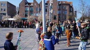 Palmpasen optocht Heerenveen succesvol verlopen