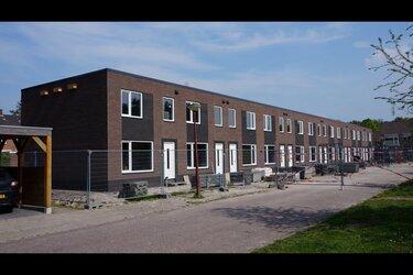 Bouw woningen aan de Tjerk Bottemastraat in de afbouwfase!