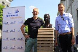Walk of Fean officieel onthuld op het Gemeenteplein in Heerenveen